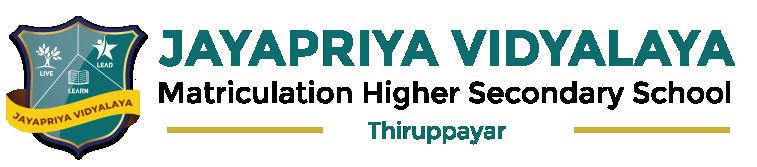 Jayapriya Vidyalaya Matric Higher Secondary School